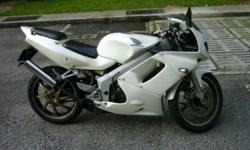 Honda NSR SP 150 in perfect riding condition. White