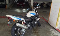 Bike mainly used for commuting to work. Normal wear and