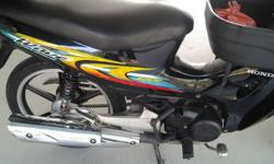 Tip top condition Honda wave 125S . Quiet engine , save