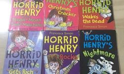 Collection of 6 Horrid Henry stories. Complete