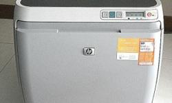 Colour laser printer encountered printing problem,
