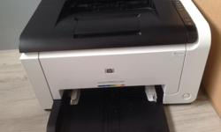 The HP LaserJet Pro CP1025nw is an ideal laser printer