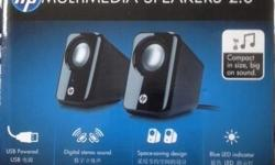 Brand new unopened still in box HP Multimedia Speakers