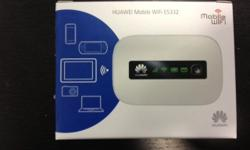 PRODUCT DETAIL: 3.5G PORTABLE WIFI MODEL: HUAWEI 5332