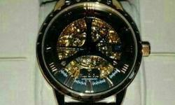 selling used Hugo Von Eyck gents auto watch HE 304-301