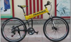 Model: HUMMER 26-Inch Folding 21-Speed Military