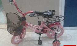 "Bike 1 (Pink): 12""Kid Bike for Girl. Suitable for kids"