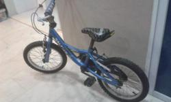"Bike 1 (Blue): 16"" Raleigh Bulldozer (BMX). Suitable"
