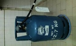 LPG Gas cylinder including gas pipe immediate sale by