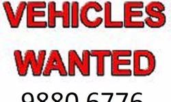 Wanted! Car, Van, Lorry * Guaranteed Quotes! * Can Pay