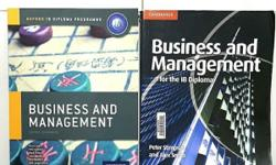 Selling used Business & Management books for IB