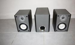 Used once ICHIBAN Bookshelf Home Theater Speakers