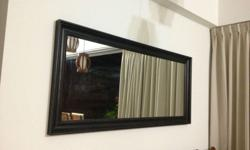 Ikea Black Full length mirror