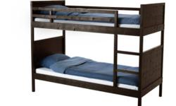 brand new IKEA wood bunk bed, $450(include: free