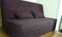 Ikea sofa-bed BEDDINGE dark lilac  Collection 2009  ?