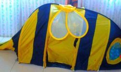 Ikea cute kid's bumble bee tent (have used for outdoor