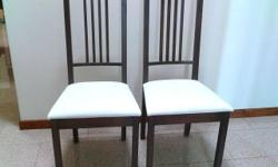 Ikea BORJE dining chair dark brown in good clean