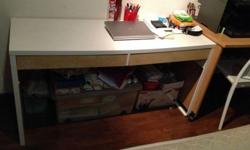 this is used IKEA double desk