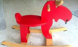IKEA EKORRE ROCKING MOOSE We are selling all our baby