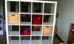 Expedit Bookcase unit (18mths old) 149 x 149 Asking