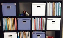 16-cube Ikea bookshelf for sale in like-new, flawless