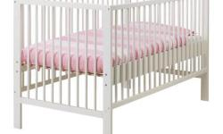 Ikea Gulliver Cot - White - Used condition - Already