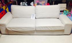USED. Comes with: 1 Tullinge grey-brown cover for sofa