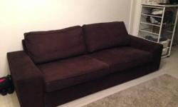 Gently used sofa for quick sale, less than a year old