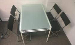 ikea lyrestad dinning table @ $40 (1.1m x 0.75m) Top up