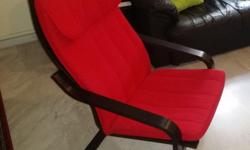 Arm chair to relax. 1 year old. Good condition. Can be