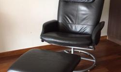 Ikea Recliner Chair with Foot Stool. Good working