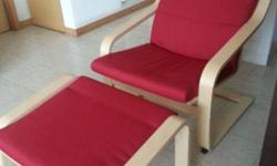 We are selling hardly used Ikea Poang Rocking chair