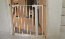 IKEA safety gate. 30 sgd. Used for 1 year. Complete