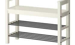 Ikea Bench with shoe storage - Color White - Hemnes