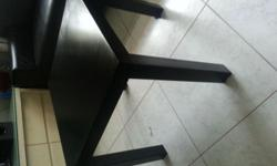 ikea table 2 months old good as new . Prices is 7$ each