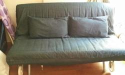 Six-year old (approximate) queen-sized sofa bed with