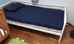 One year old Ikea Day Bed with mattress. Retails at