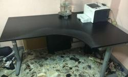 Ikea Galant right corner table: $90 ( original price