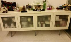 Lots of storage space and very useful cabinet