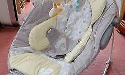 Very Good Condition Ingenuity Baby Bouncer with FREE