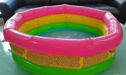 Pre loved Intex baby pool. Useful for bathing or as a