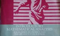 Introductory Mathematical Analysis: For Business,