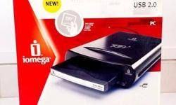 The Iomega REV 35 GB/90 GB USB 2.0 external drive