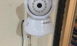SINEOJI brand IP camera for sale $50. Only use 6month.