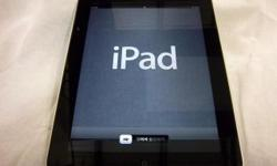 A good condition IPad 64Gb (1st Gen), WI-FI + Cellular