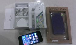 iPhone 4 32GB, Black color with full box, ver 7.1 Phone