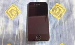 Good Condition Iphone 4 ( Not 4s) Black Color 32GB for