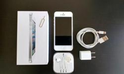 iphone 5 with 64GB capacity in Excellent Condition. It