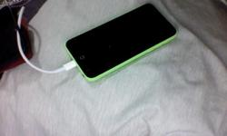 SELLING AWAY MY IPHONE 5CS GREEN..16 GB NO SCRATCHES,