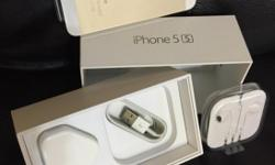 iPhone 5S 32GB GOLD - New, Unused with original front &